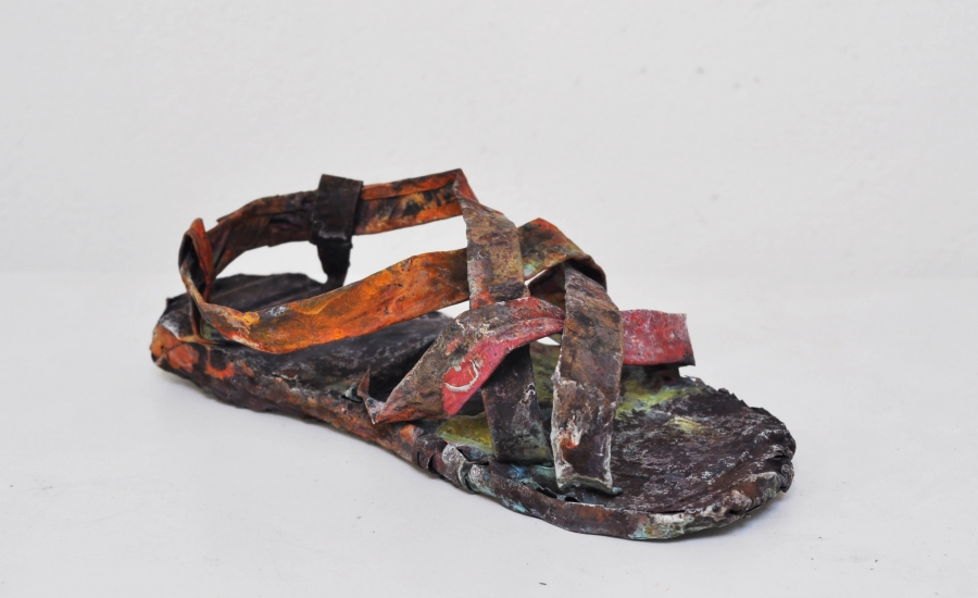 marius ritiu, dmw art space, art, artist, sandal, vampire, alley of the universe