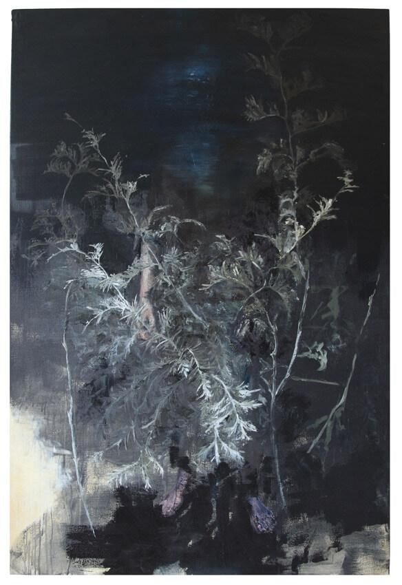 joris vanpoucke, tim volckaert, dmw art space, contemporary art, duo exhibit, painting, the knight has fallen