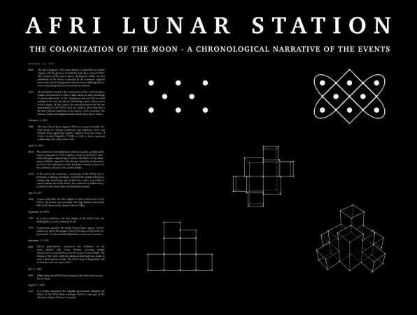 Kiluanji Kia Henda, Afri Lunar Station, DMW Art Space