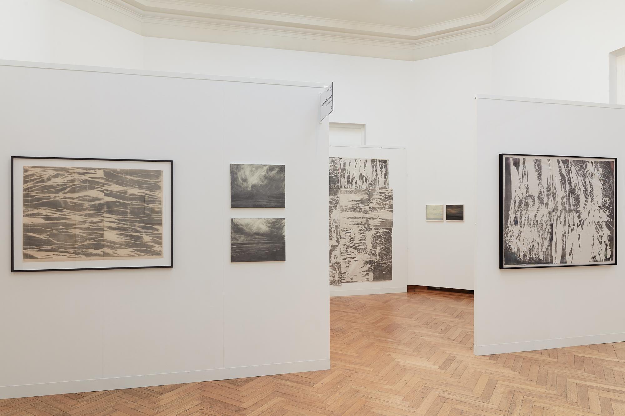 dmw art space, art on paper, denitsa todorova, joris vanpoucke