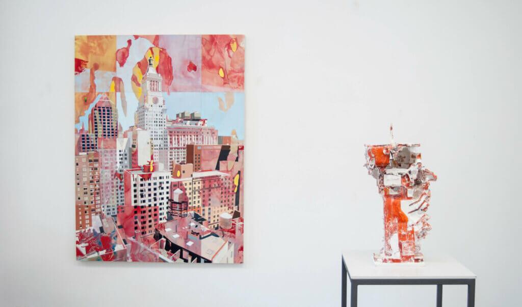 Jehoshua Rozenman, Detlef Waschkau, DMW, DMW Art Space, Antwerp, exhibition