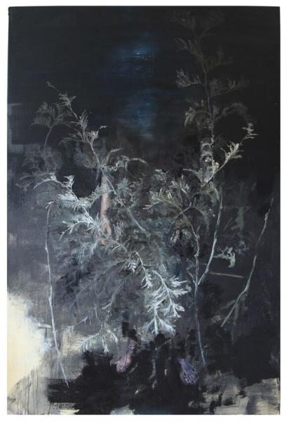 joris vanpoucke, tim volckaert, dmw gallery, contemporary art, duo exhibit, painting, the knight has fallen