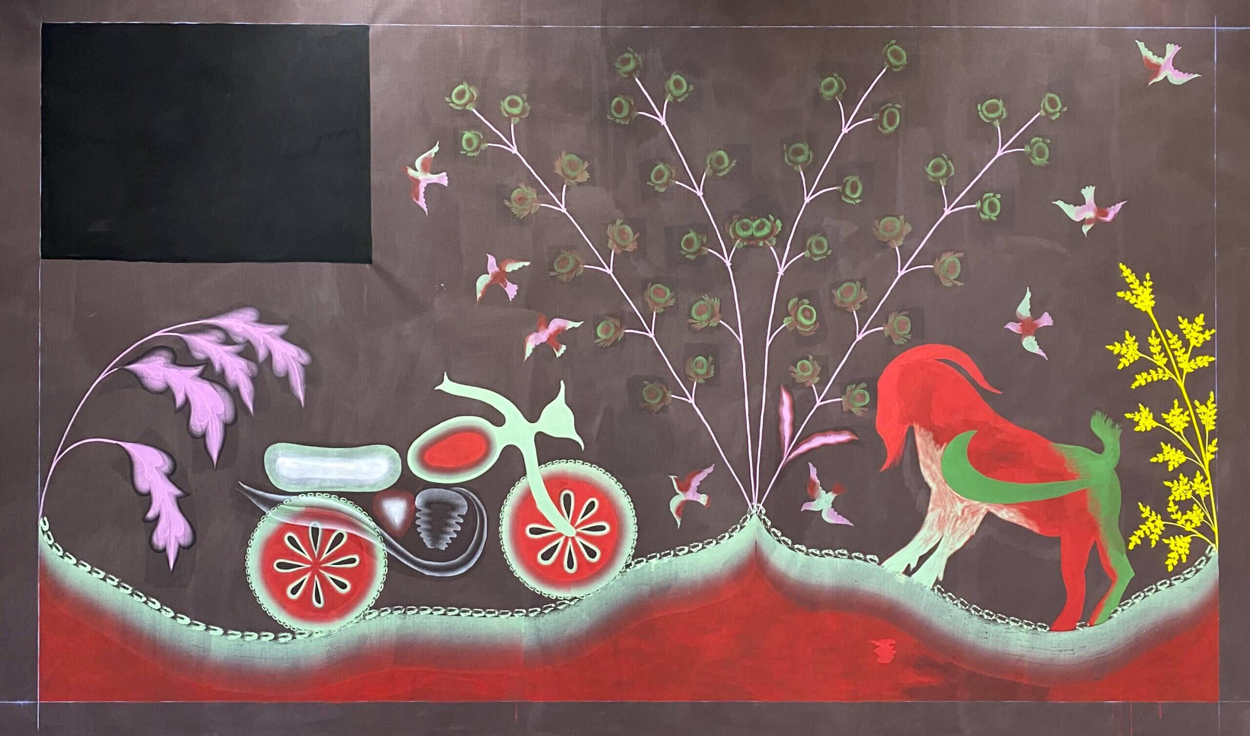 gijs frieling, mural, dmw gallery