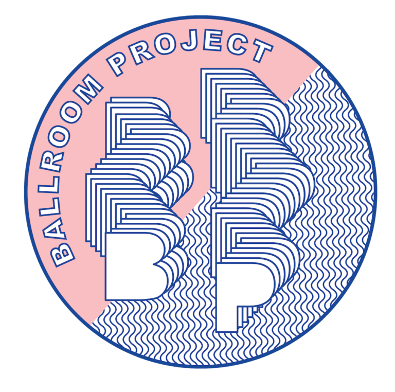 ballroom project, 2021, edition 3, logo