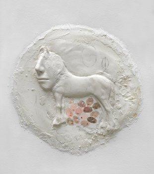 femmy otten, wall sculpture, untitled, dmw gallery