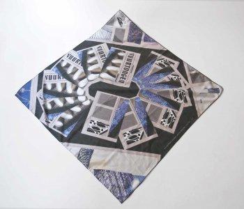 ada van hoorebeke, tongues of fire, scarf, edition, dmw gallery
