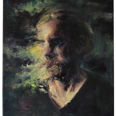 joris vanpoucke, self portrait, dmw gallery