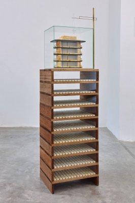 caroline van den eynden, cache cache, dmw gallery, sculpture