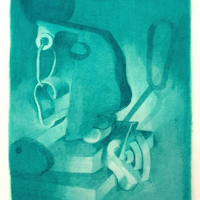 ellen pil, dmw gallery, painting, deaf men
