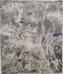 denitsa todorova, dmw gallery, marble foam, drawing