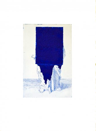 hadrien bruaux, this place displaced, painting, dmw gallery
