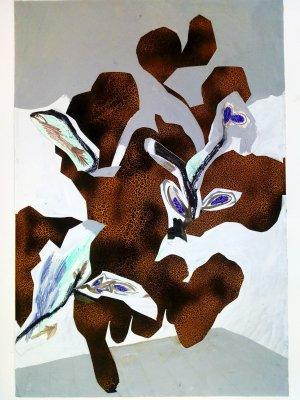 fia cielen, dmw gallery, floral phenomenon, painting
