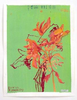werner mannaers, dmw gallery, gouache