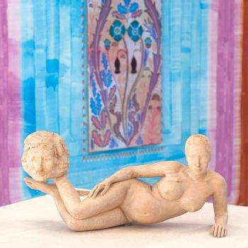 femmy otten, gijs frieling, dmw gallery, one tear at a time, sculpture