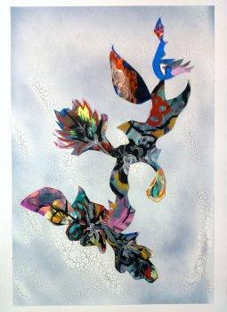fia cielen, dmw gallery, painting, floral phenomenon