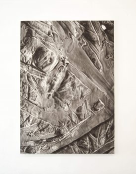 stephan balleux, painting, magnified, dmw gallery, rhymes and enantiomorphs