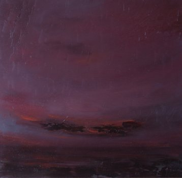 joris vanpoucke, painting, dmw gallery, marine in carmine
