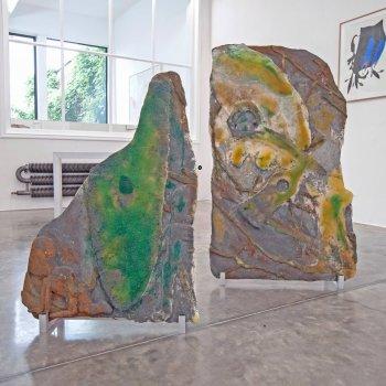 this place displaced, dmw gallery, markus von platen, sculpture