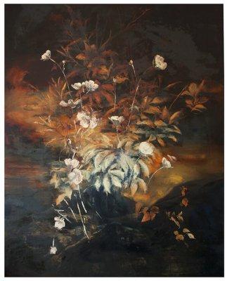 joris vanpoucke, dmw gallery, mare, painting, solo exhibition, nightfall