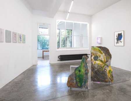 this place displaced, dmw gallery, exhibition view