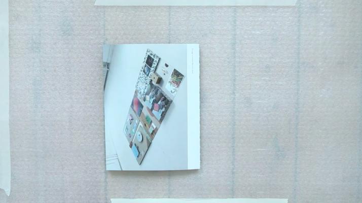 seeing a rainbow, artist book, dries segers, dmw gallery