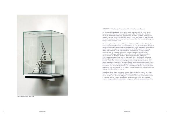 caroline van den eynden, connection between memory and desire, dmw gallery, artist book