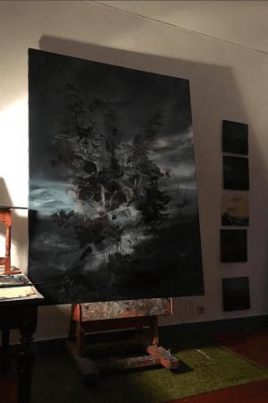joris vanpoucke, dmw gallery, studio, painting, painter