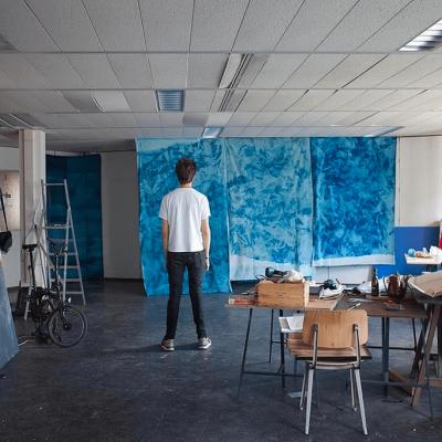 dries segers, studio, artist portrait, dmw gallery