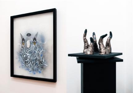 fia cielen, artist, dmw gallery, the last trick, the juggler