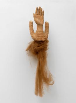 femmy otten, dmw gallery, sculpture, hand, untitled