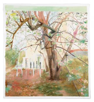 femmy otten, painting, dmw gallery, untitled