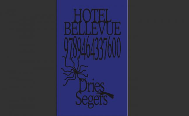 dries segers, hotel bellevue, book