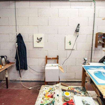 emilie terlinden, painting, dmw gallery, artist, studio