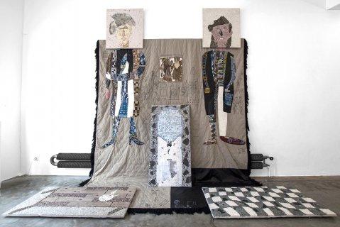 klaas rommelaere, dmw gallery, manon kundig, cadavre exquis, the waiting room