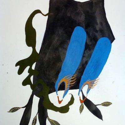 fia cielen, artist, dmw gallery, painting, untitled