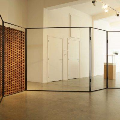 caroline van den eynden, thomas raat, dmw gallery, le papillon de l'architecture
